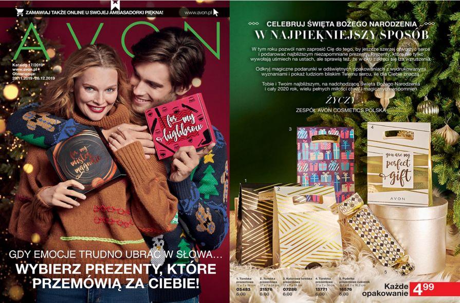 Katalog Avon nr 17 - wydanie świąteczne